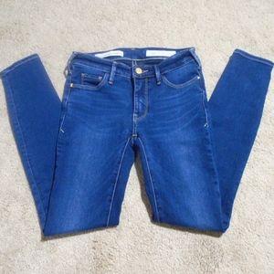 "ANTHROPOLOGIE Pilcro Serif Ankle Jeans 27"" Inseam"